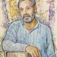 Портрет художника А. Кашаева, 2010