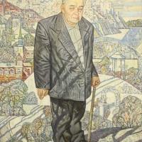 Портрет художника Б.Ф. Домашникова, 1999