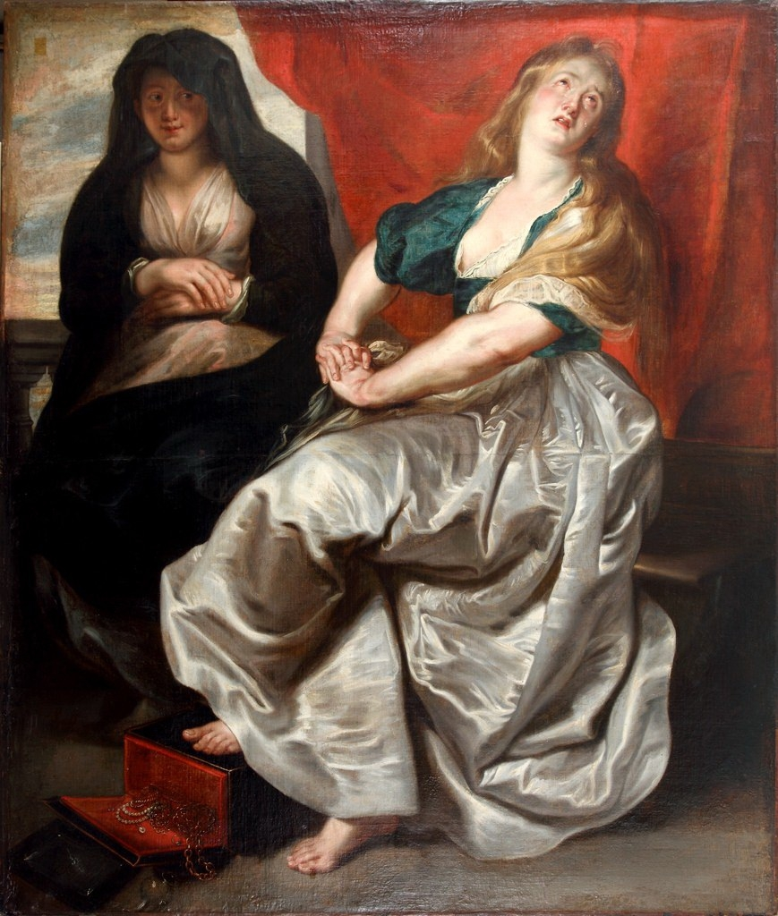 an analysis of the painting martha and mary magdalene