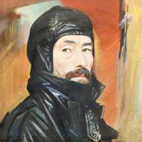Портрет художника В.М. Ханнанова, 1998