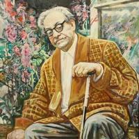 Портрет художника А. Тюлькина, 2002